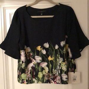 Victoria Beckham for Target XL top - flowery!!